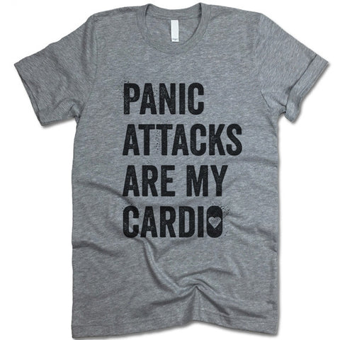Panic Attacks Are My Cardio