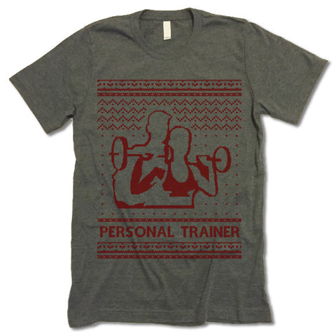 Personal Trainer Christmas T-Shirt
