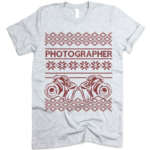 Photographer Christmas T-Shirt