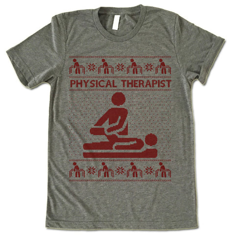 Physical Therapist Christmas T-Shirt