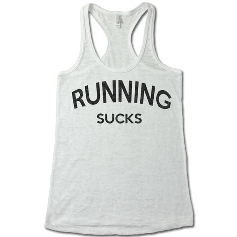 Running Sucks - Racerback