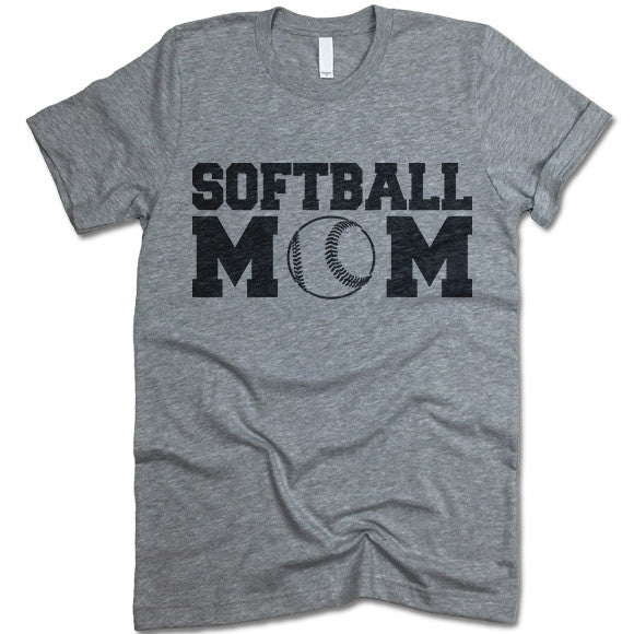 Softball Mom T Shirt