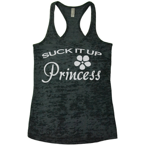 Suck It Up Princess Racerback
