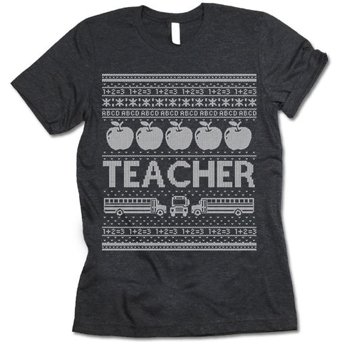Teacher Christmas T Shirt