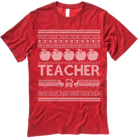 Teacher Christmas Shirt