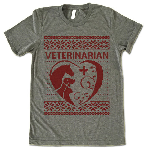 Veterinarian Christmas T-Shirt