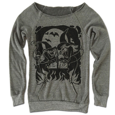 The Witches Brew Off The Shoulder Sweatshirt