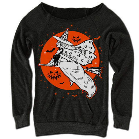 The Witches Moon Off Shoulder Sweater