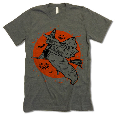 The Witches Moon Halloween T-Shirt