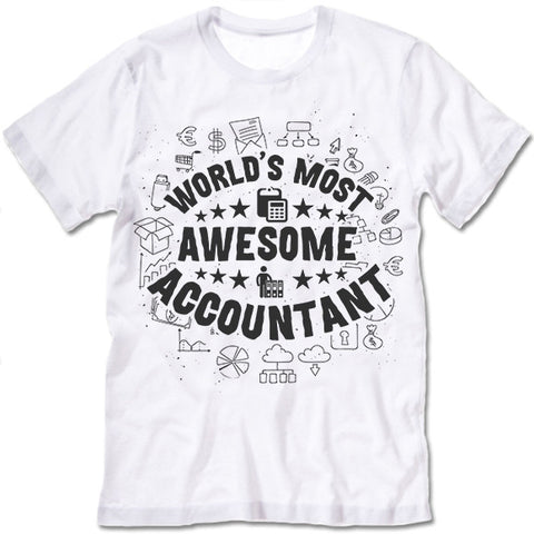 World's Most Awesome Accountant Shirt