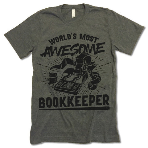 Bookkeeper T Shirt