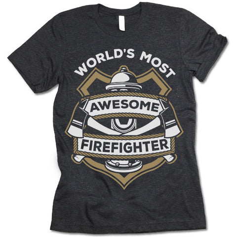 Awesome Firefighter Shirt