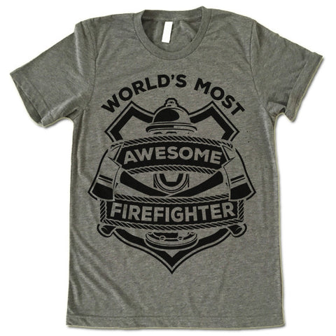 firefighter tee shirt
