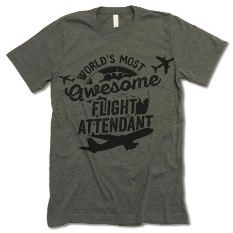Flight Attendant T Shirt