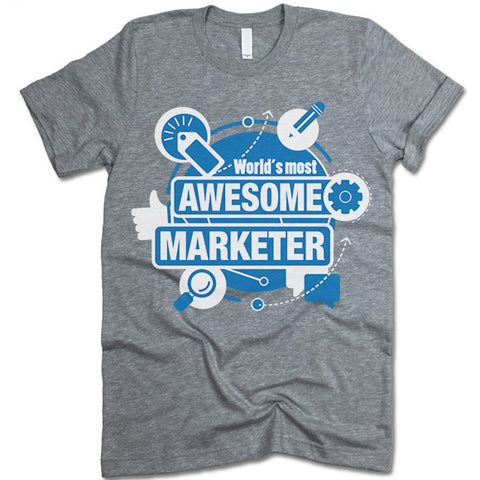 Worlds Most Awesome Marketer
