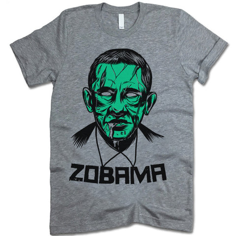 Zobama Zombie Obama T-Shirt