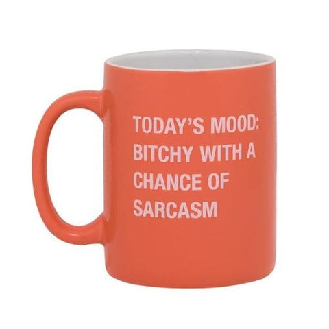 Bitchy with a Chance of Sarcasm Mug