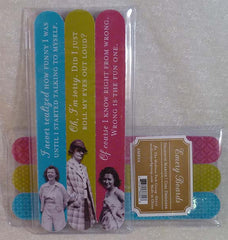 Roll My Eyes 3Pk Emery Board Set - Shannon Martin - Jules Enchanting Gifts