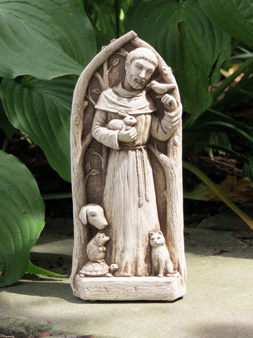 St. Francis Blesses the Animals - Carruth Studio