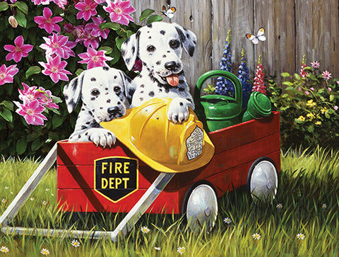 Puzzle - Fire Waggin' 500 Pieces