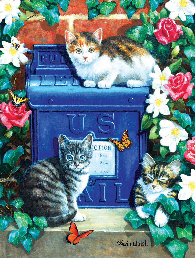 Puzzle - Mail Box Kittens 300 Pieces