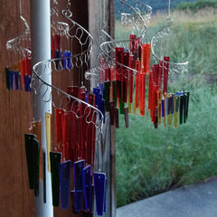 Jules Tones Wind Chime - Over the Rainbow - Large
