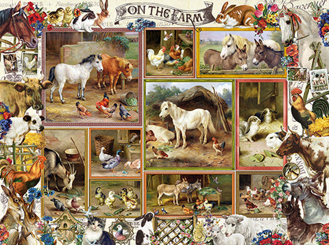 Puzzle - On the Farm 300 Pieces