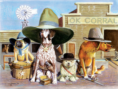 Puzzle - OK Corral 300 Pieces