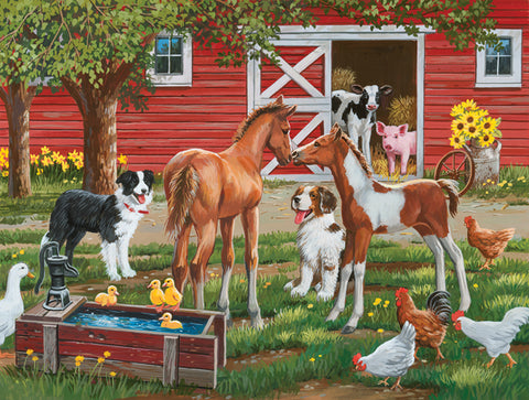 Puzzle - Welcome the New Pony 300 Pieces