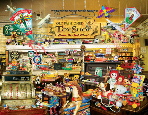 Puzzle - An Old Fashioned Toy Shop 1000+ Pieces