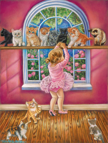 Puzzle - Dance Class 300 Pieces - SunsOut - Jules Enchanting Gifts
