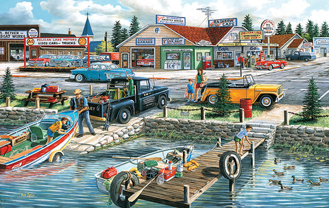 Puzzle - Pelican Lake 550 Pieces