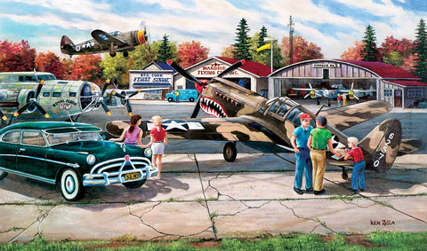 Puzzle - Warbird Rally 550 Pieces