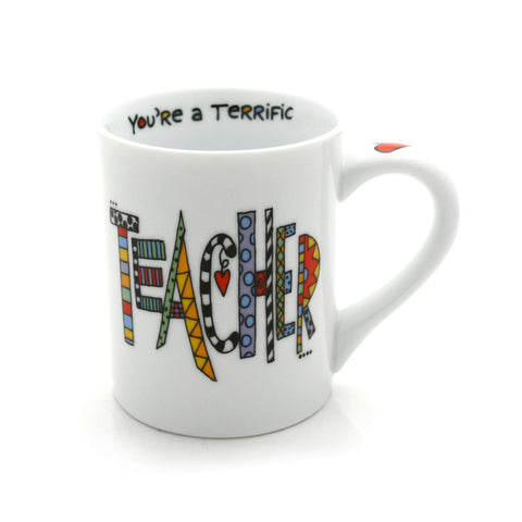 Teacher Mug - Our Name is Mud - Jules Enchanting Gifts
