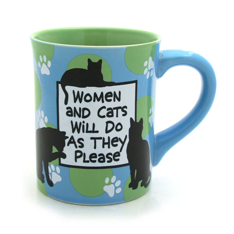 Women and Cats Mug - Our Name is Mud - Jules Enchanting Gifts - 1