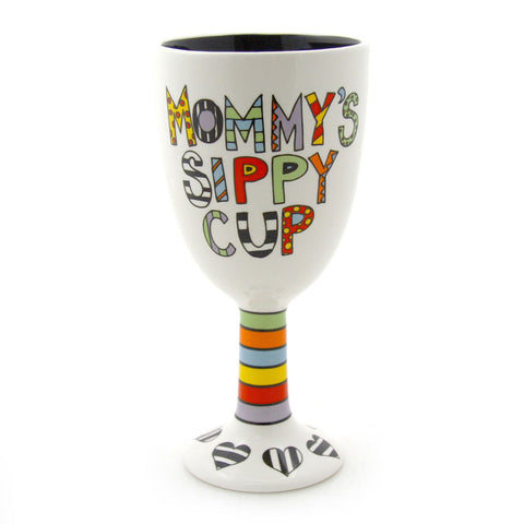 Goblet - Mommy's Sippy Cup - Our Name is Mud - Jules Enchanting Gifts