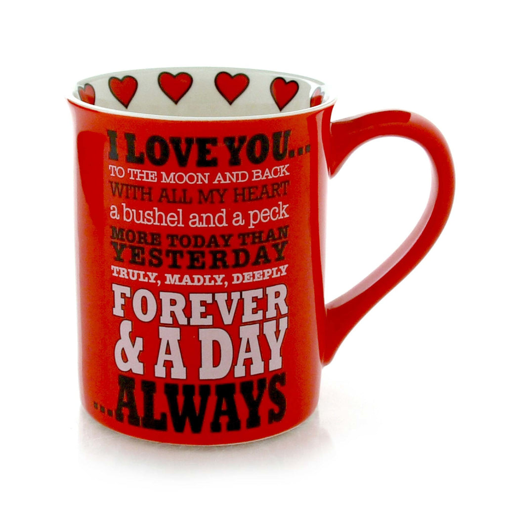I Love You Always Mug - Our Name is Mud - Jules Enchanting Gifts