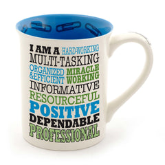 Professional Typography Mug - Our Name is Mud - Jules Enchanting Gifts - 1