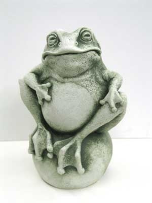 Frog on the Ball - Carruth Studio