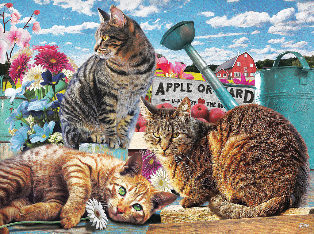 Puzzle - Apple Orchard 300 Pieces