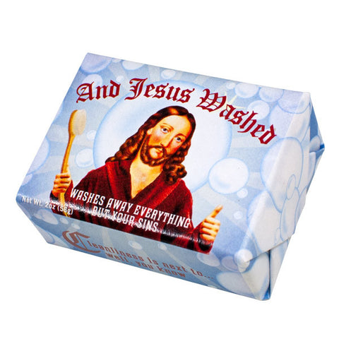 And Jesus Washed - Unemployed Philosophers Guild - Jules Enchanting Gifts - 1