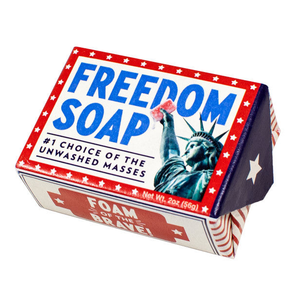 Freedom Soap - Unemployed Philosophers Guild - Jules Enchanting Gifts