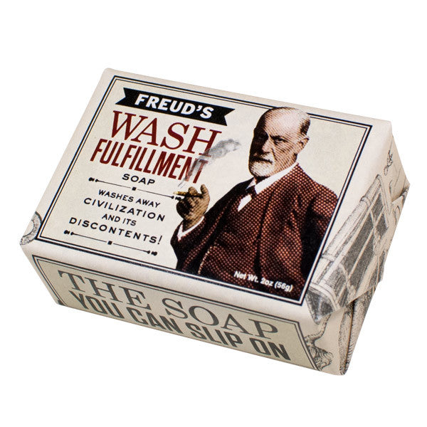 Freud's Wash Fulfillment Soap - Unemployed Philosophers Guild - Jules Enchanting Gifts