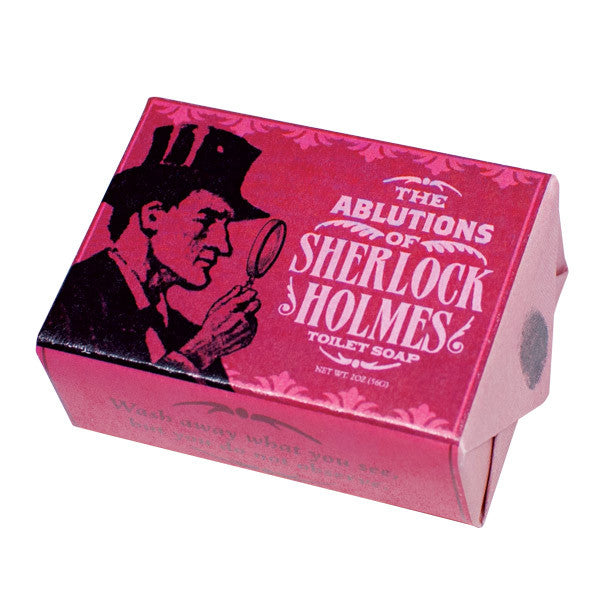 The Ablutions of Sherlock Holmes Soap - Unemployed Philosophers Guild - Jules Enchanting Gifts ...