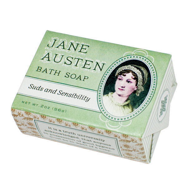 Jane Austen Bath Soap - Unemployed Philosophers Guild - Jules Enchanting Gifts