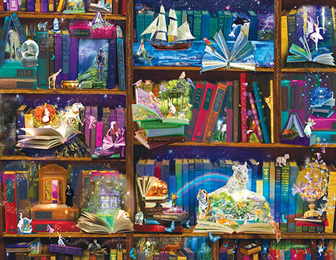 Puzzle - Library Adventures in Reading 1000+ Pieces