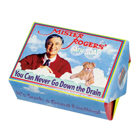 Mister Rogers Bath Soap - Unemployed Philosophers Guild - Jules Enchanting Gifts