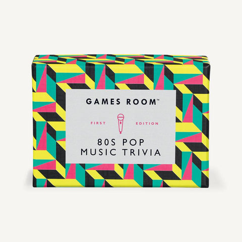 80s Pop Music Trivia Game