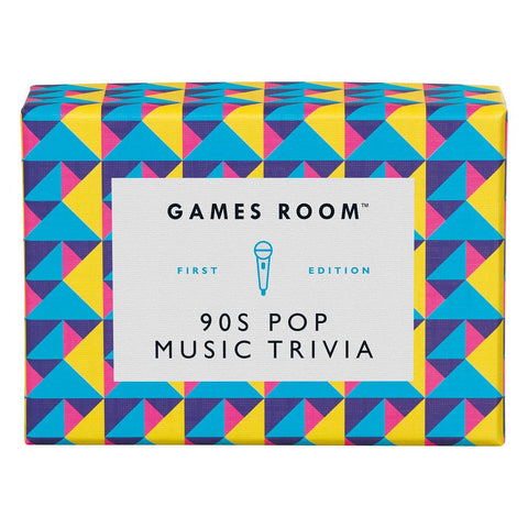 90s Pop Music Trivia Game