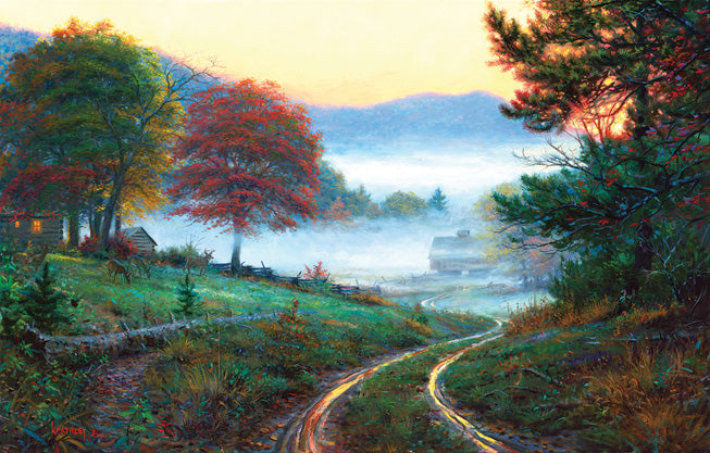 Puzzle - Morning at Cades Cove 300 Pieces